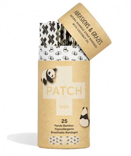 PATCH by Nutricare Bambuspflaster Kids - Kokosöl Wunde Wundpflaster vegan nachhaltig