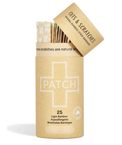 PATCH by Nutricare Natural Bamboo Bandages sensitive skin wound healing