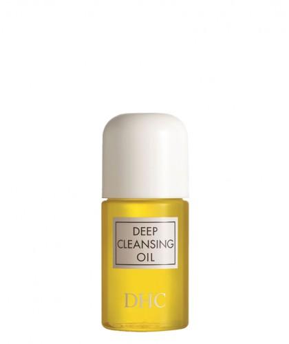 DHC Huile Démaquillante Pureté Deep Cleansing Oil (flacon mini voyage 30ml) visage et yeux