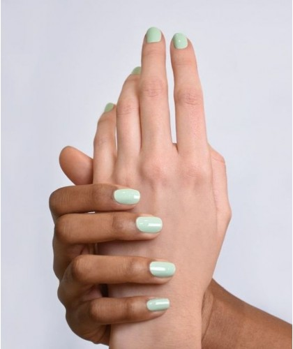 Manucurist natural Nail Polish GREEN Pastel Mint swatch