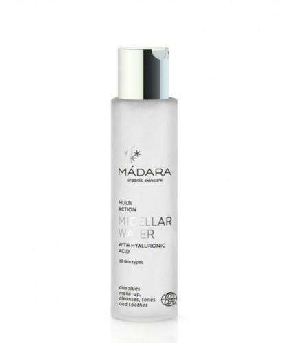 MADARA Eau Micellaire bio Acide Hyaluronique végétale pivoine flacon peau sensible