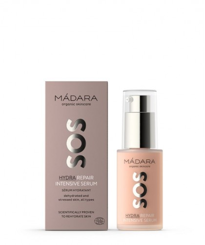 Madara organic skincare - SOS Hydra Repair Intensive Serum natural cosmetics