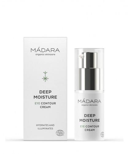 MADARA Contour des Yeux bio cosmétique - Crème certifié Deep Moisture