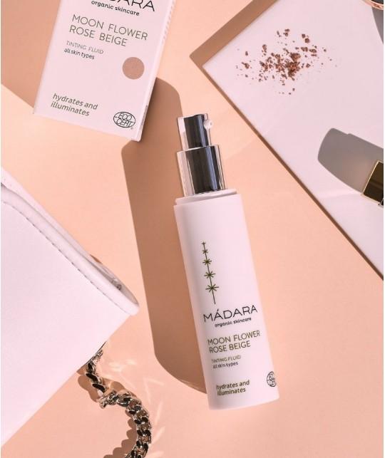 MADARA cosmétique bio BB crème fluide bio teint rosé maquillage léger unifie peau sensible végétal