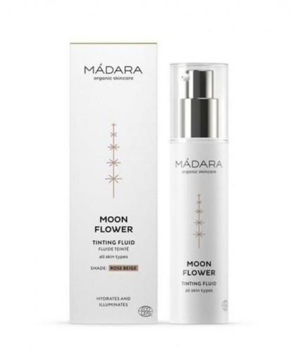 MADARA organic cosmetics - Moon Flower Rose Beige Tinting Fluid 50ml BB cream swatch