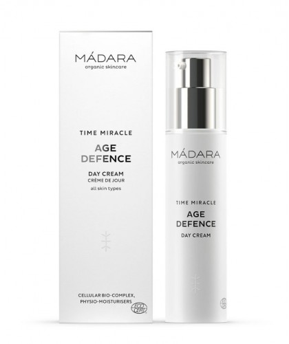 MADARA TIME MIRACLE Age Defense Day Cream organic cosmetics