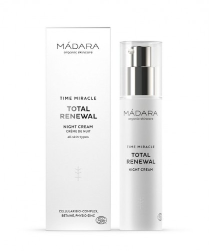 MADARA cosmetics Anti-Aging Nachtcreme Naturkosmetik TIME MIRACLE Total Renewal Night Cream