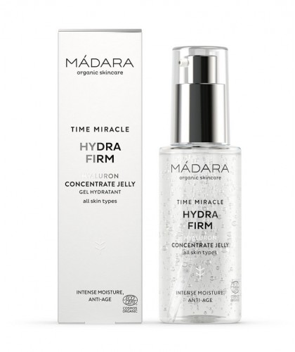 MADARA Anti-aging TIME MIRACLE Hydra Firm Hyaluron Concentrate Jelly organic skincare