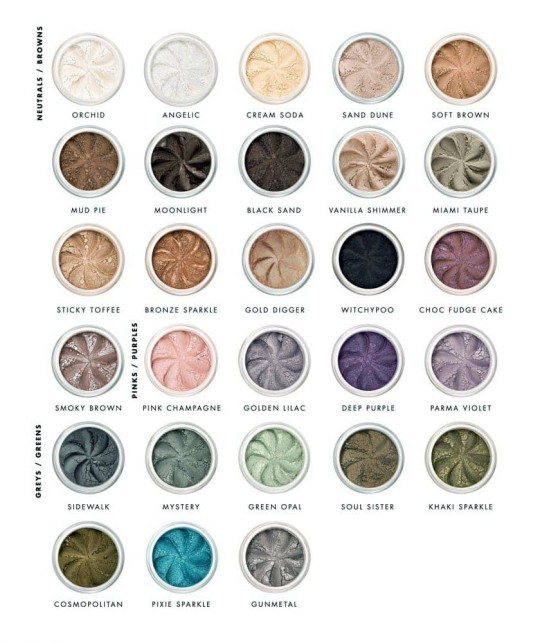 Lily Lolo Mineral Eye Shadow clean cosmetics green beauty