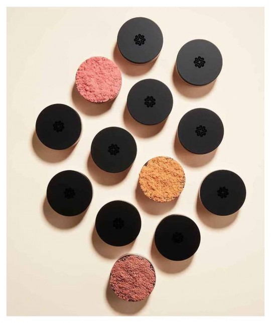Lily Lolo Mineral Blush color swatch shades natural beauty green cosmetics