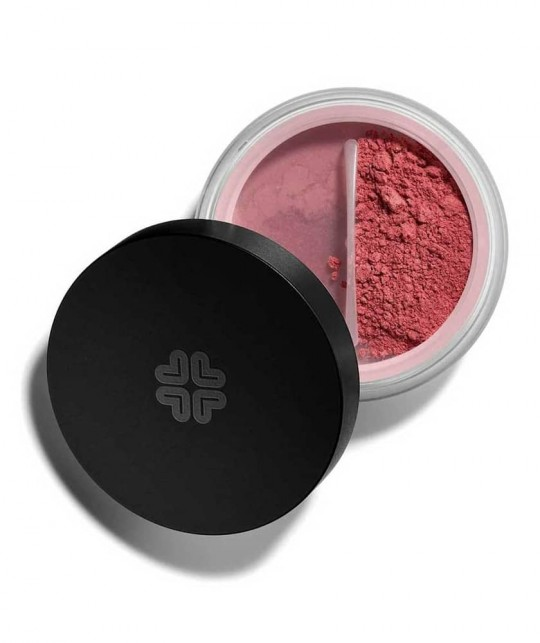 Blush Lily Lolo Minéral Flushed poudre rose mat Maquillage Teint swatch