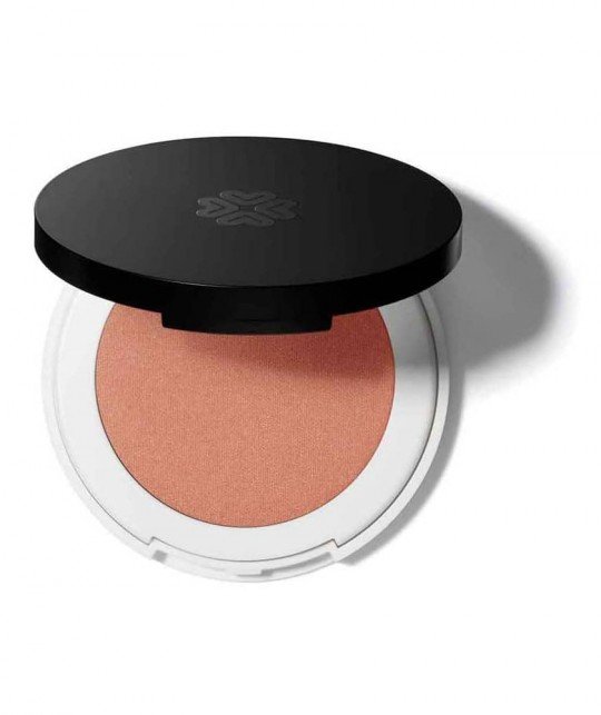 Lily Lolo Pressed Blush natural beauty green cosmetics clean vegan Just Peachy