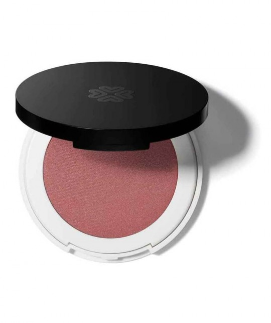 Lily Lolo Pressed Blush pink natural beauty Coming Up Roses green cosmetics mineral