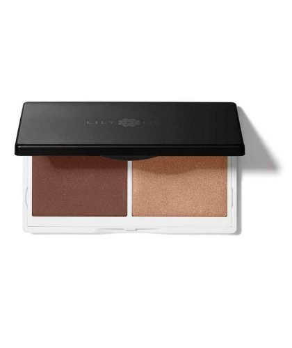 Lily Lolo Contouring naturel Duo Sculpt & Glow maquillage teint