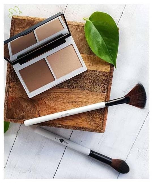 Contouring Lily Lolo Duo Highlighter Bronzer Sculpt & Glow