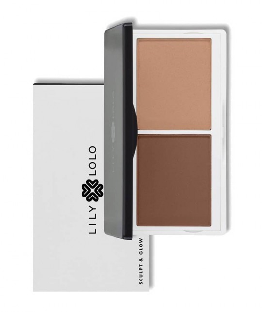 LILY LOLO Sculpt & Glow Contour Duo mineral cosmetics