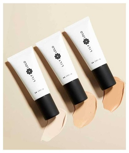 Lily Lolo Natural BB Cream beauty green clean vegan cosmetics anti aging swatch