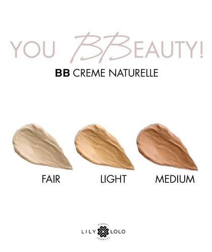 Lily Lolo Natural BB Cream mineral cosmetics swatch