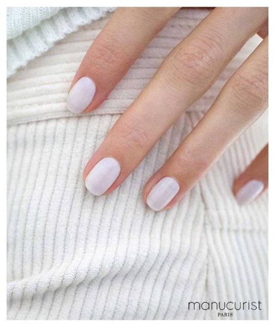 Manucurist Vernis à Ongles GREEN Milky White swatch blanc