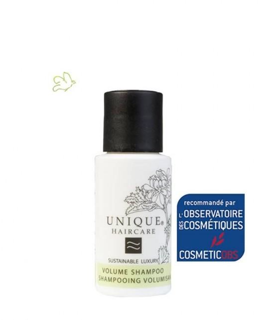 UNIQUE Haircare Volumen Shampoo Pfefferminze 50ml mini Naturkosmetik