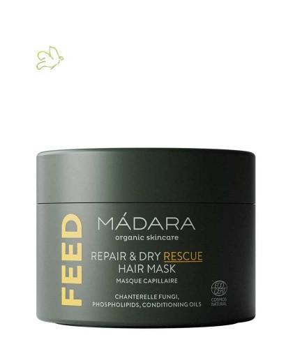 Madara cosmetics FEED Repair & Dry Rescue Hair Mask Haarkur