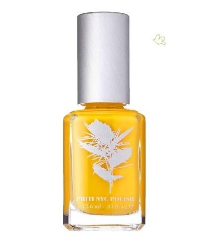 Priti NYC - Vernis jaune green Ongles - Lampshade Poppy