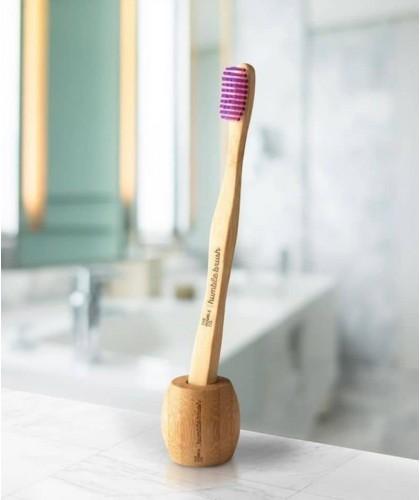 Zahnbüstenhalter aus Bambus Humble Brush vegan cruelty free nachhaltig Design Schweden