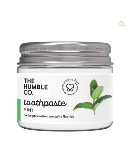 Humble Co. Dentifrice Naturel pot en verre Menthe Vegan