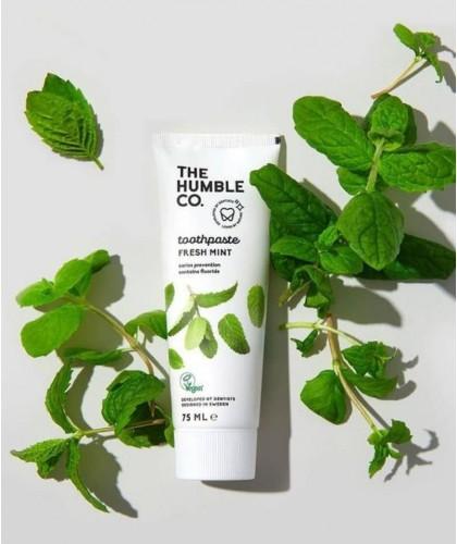 Humble Brush Natural Toothpaste Fresh Mint Zahnpasta Frische Minze Vegan cruelty free biologisch ökologisch