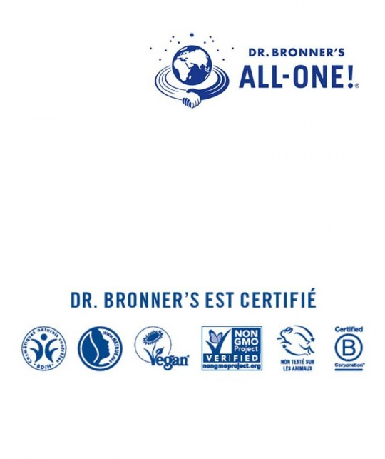 Dr. Bronner's Organic Lip Balm Naked unscented
