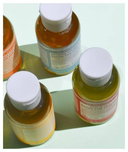 Dr. Bronner's Pack 3 Savons Liquides bio 18-en-1Lavande voyage