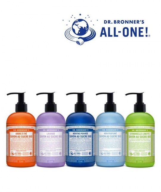 Dr Bronner's Baby Unscented Organic Sugar Soap natural