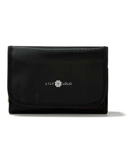 Lily Lolo makeup brushes vegan cosmetic pouch