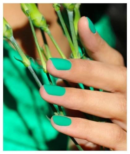 Manucurist Paris Nail Polish GREEN Green Garden vegan
