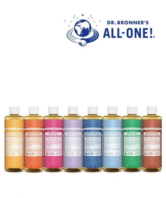 Dr. Bronner's Organic Liquid Soap Tea Tree natural cosmetics vegan