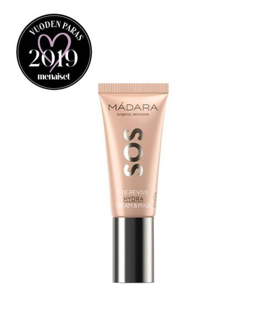 MADARA cosmetics SOS Eye Revive Hydra Cream & Mask
