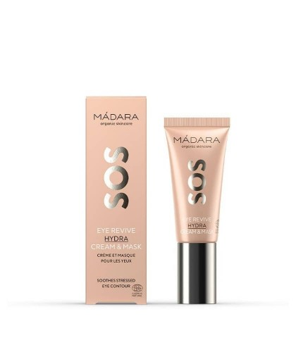 Madara cosmétique Contour des Yeux & Masque Revitalisant bio SOS Hydra