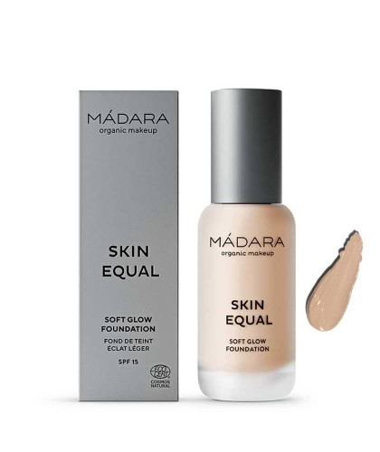 MADARA Fond de Teint liquide maquillage bio Skin Equal Ivory 20