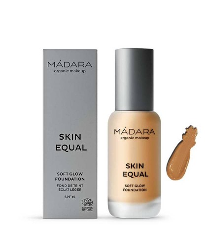 MADARA organic makeup Foundation Skin Equal Soft Glow Golden Sand 50