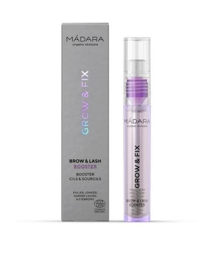 MADARA organic makeup Brow & Lash Booster Serum  Grow & Fix natural cosmetics