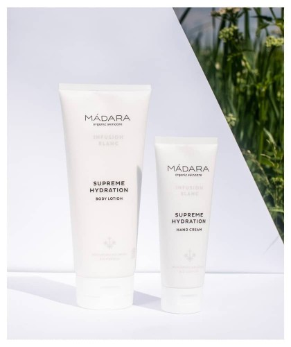 MADARA organic skincare Body Lotion Naturkosmetik Körpermilch Infusion Blanc Supreme Hydration