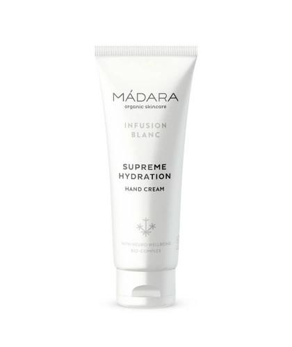 MADARA organic skincare Hand Cream Supreme Hydration Infusion Blanc
