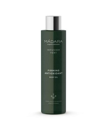 MADARA organic skincare Körperöl Naturkosmetik Straffend Antioxidant Body Oil Infusion Vert
