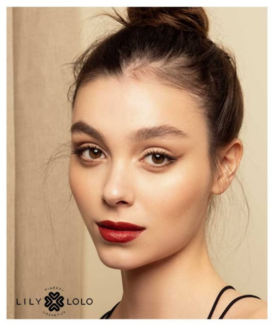 Lily Lolo Vegan Lipstick Stripped brown red natural cosmetics