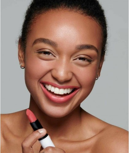 Lily Lolo Vegan Lipstick Flushed Rose clean cosmetics