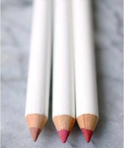Lily Lolo Natural Lip Pencil True Pink green beauty