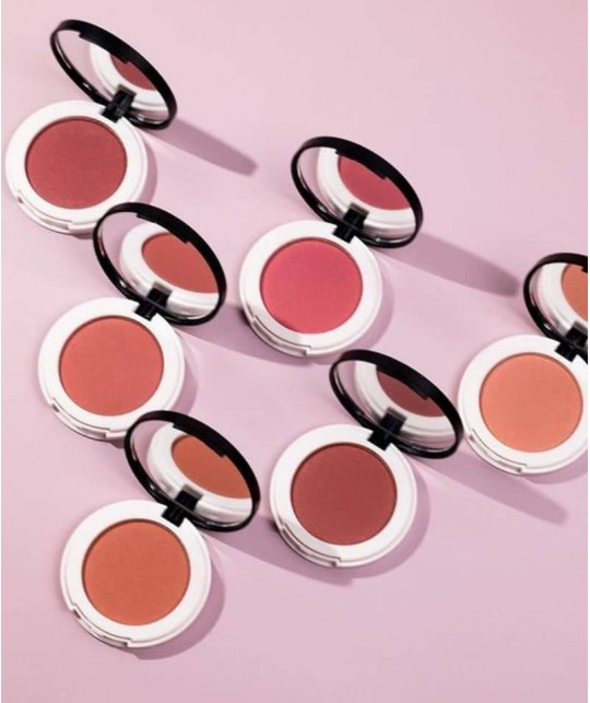 Lily Lolo Pressed Blush  swatch mineral cosmetics