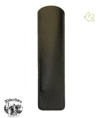 Étui cuir pour peigne en corne Abbeyhorn 16,8 cm