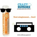 Crazy Rumors - Baume Lèvres Naturel Jus d'Orange