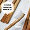 My Boo Company - Sustainable Bamboo Toothbrush - Kids (blue)
